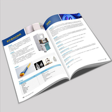 Custom a5 mini <span class=keywords><strong>brochure</strong></span> maker personalizzato stampa di opuscoli