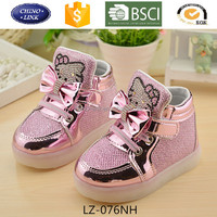 Kids led light up shoes hot sale casual shoes lace up vibration shoes