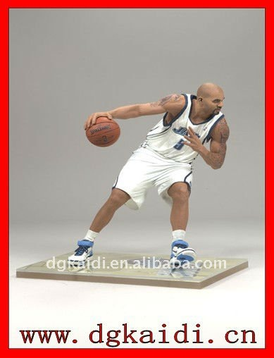 Best quality NBA player stars slam dunk action figures
