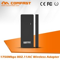 WiFi Networking Devices RTL8814AU Chip COMFAST CF-917AC 1750Mbs Wireless USB Adapter 2.4GHz 5.8GHz