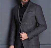 Wholesale checkout casual blazers men slim fit long sleeve formal men suit business suit plus size men's clothing five color