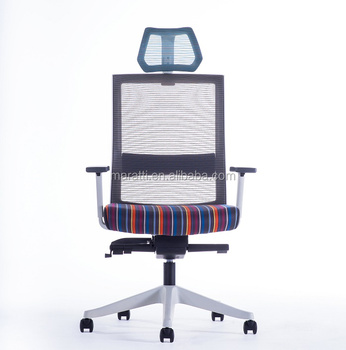 Manafer Office Chair With Neck Support And Folding Back