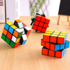 Amazon Hot Sell Cheap OEM Cube Educational Game Toys Custom Magic Puzzle Cube