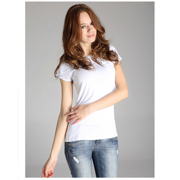 Plain White T Shirt Women 95 Cotton 5 Spandex T Shirts Buy Women 95 Cotton 5 Spandex T Shirts Plain White T Shirt Women 95 Cotton 5 Spandex T Shirts