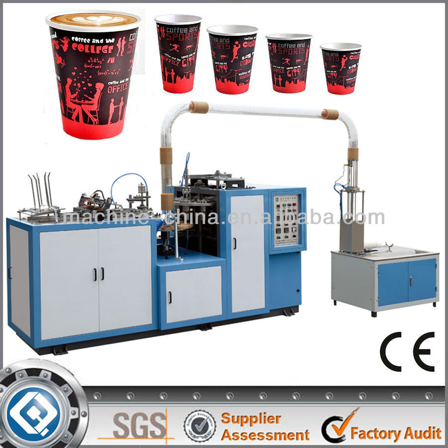 High Speed High Quality Paper Cup And Plate Making Machine