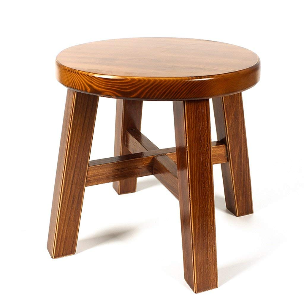 LIUXUEPING Living Room Home Stool Creative Solid Wood Adult Small Stool Fashion Simple And Modern Wood Stool Wooden Stool Stool
