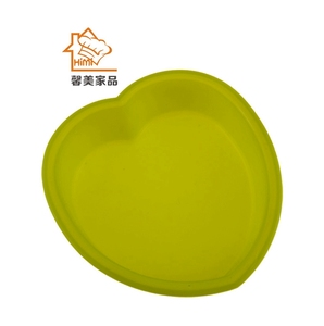 Heart shape silicone souffle dishes & ramekins pan