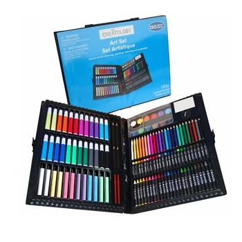 Crayon Color Pencil Rainbow Art Professional Painting Jumbo Set ...