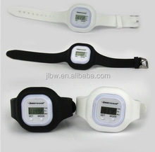 wristband count step and time pedometer watch/step counter watch/pedometer and calorie counter watch