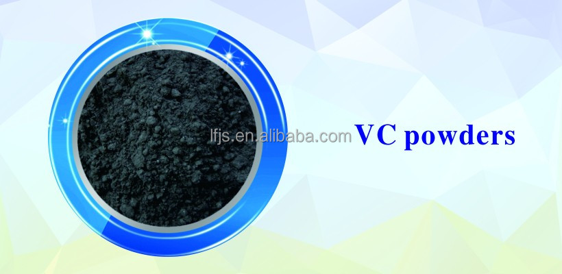 Micron Vanadium carbide powder sized 200 X 325 mesh used in cutting tools