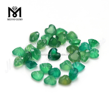 Cuore cut 6x6mm <span class=keywords><strong>agata</strong></span> verde <span class=keywords><strong>pietra</strong></span> prezzo