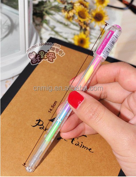 Eco-friendly many colors Fluorescent highlighter pen good quality wholesale China