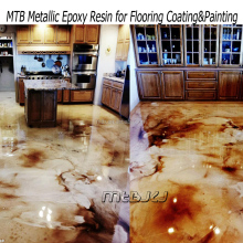 Metalic epoxy resin for floor coating, epoxy primer, clear epoxy for top coat