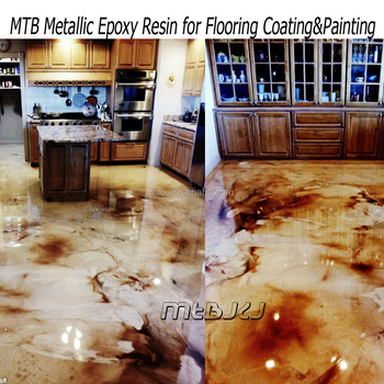 Metalic Epoxy Resin For Floor Coating,Epoxy Primer,Clear Epoxy For Top Coat  - Buy Epoxy Resin Ab Glue For Concrete Floor,Two Component Epoxy Resin