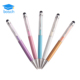 New Fashion Cheap Feature Metal Pearl Crystal Diamond Pen Promotional Touch Ballpoint Pen Wholesale