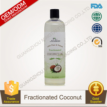 100% Pure Plants Extracts Fractionated Coconut Essential Oil OEM/ODM Professional Supplier