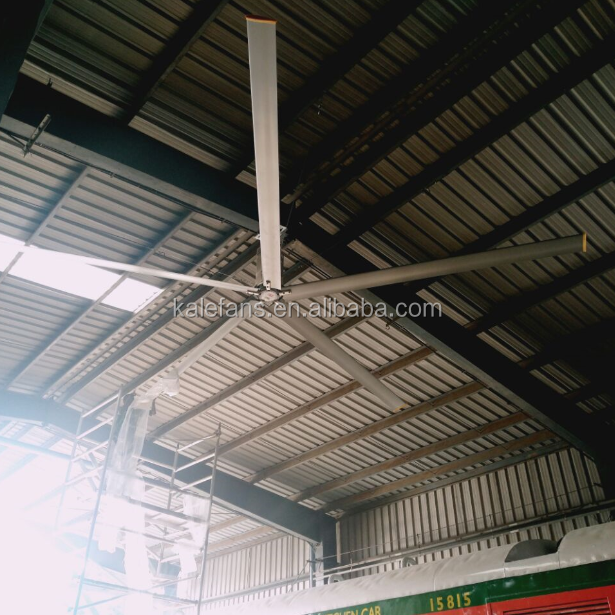 Electric Ac Ceiling Ventilator Big Hvls Industrial Fan India Factory