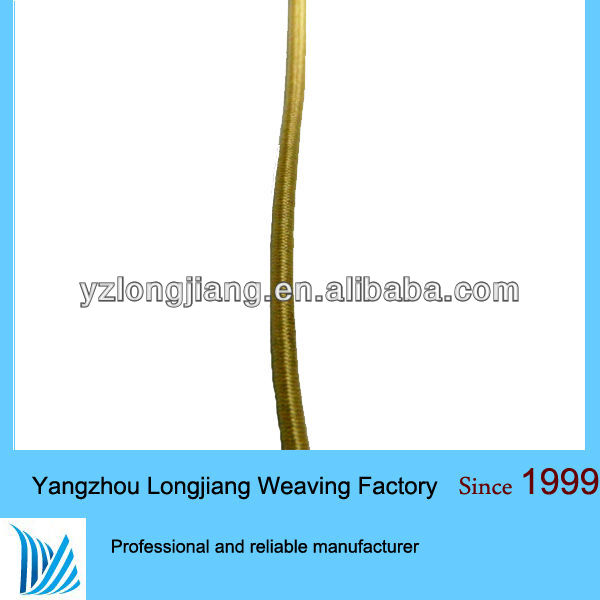 Yellow elastic cord 3mm