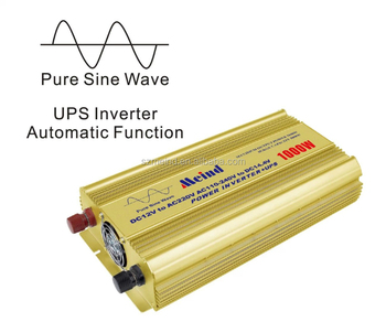 pure sine wave power inverter 1000W with UPS inverter for house appliances