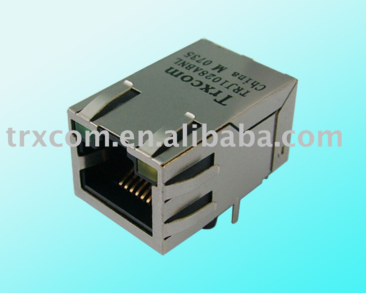 RJ45 Connect Plug With Isolated LAN Connector Jack