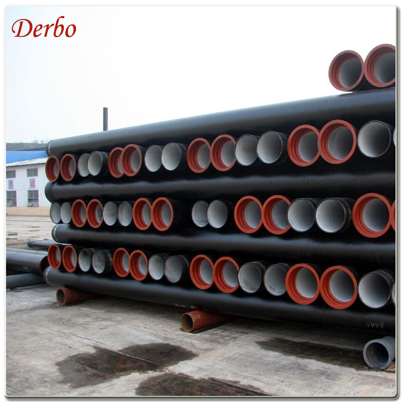 Ductile Iron pipes ISO2531 K9 DN600 cement lining