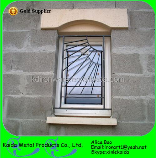 Customized Window Grills Design For Sliding Windows