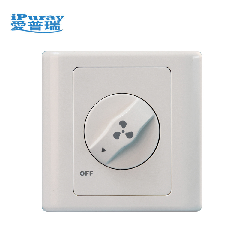 Home Electrical Fan Speed Control Wall Switch fan controller
