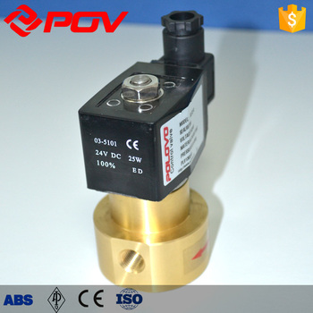 Cheap High Pressure Flow Meter Magnetic Valve Viton Seal