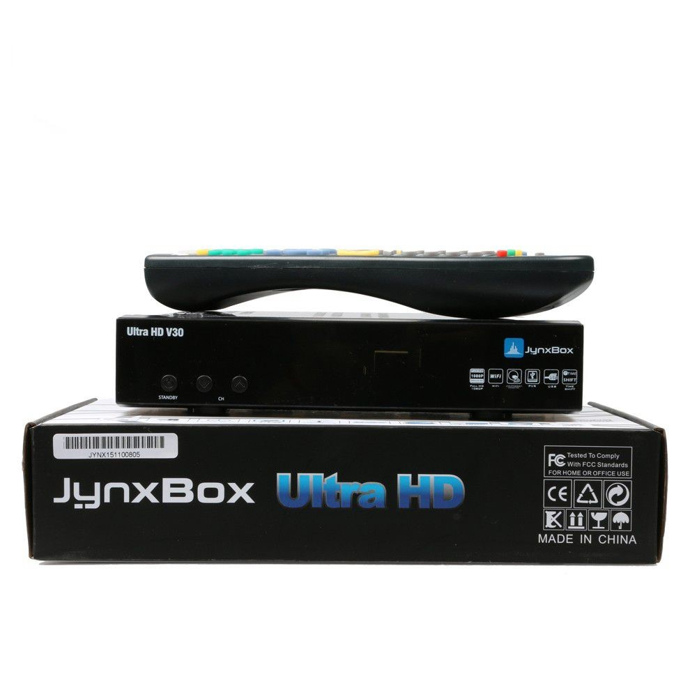 Jynxbox Ultra HD V30 With jb200 For North American