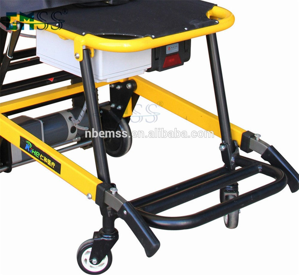 Good quality stair lift climbing wheelchair stretcher for for Motorized stair chair lift