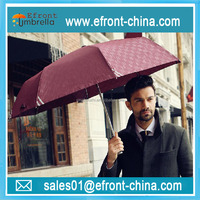 Dot print fashion design high end compact umbrella with printing