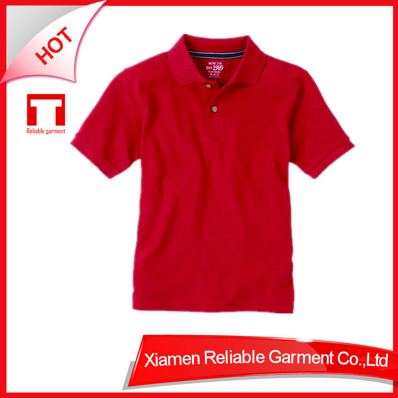 OEM plain polo shirts for school kid wear wholesale childrens clothing