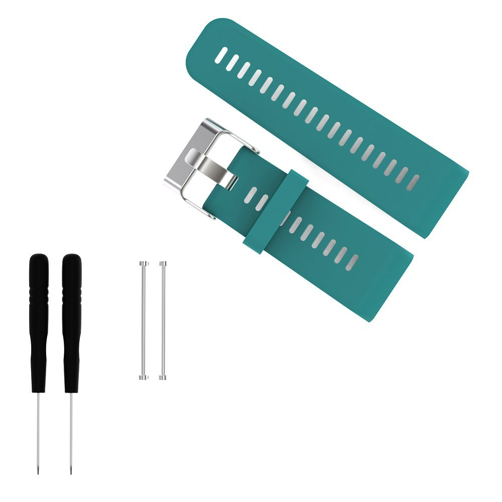 Replacement Bands and Straps for Garmin Vivoactive HR GPS Smartwatch - Teal