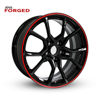 6061 Forged Customize Classic Car 5x110 Light Replica Wheels Alloy