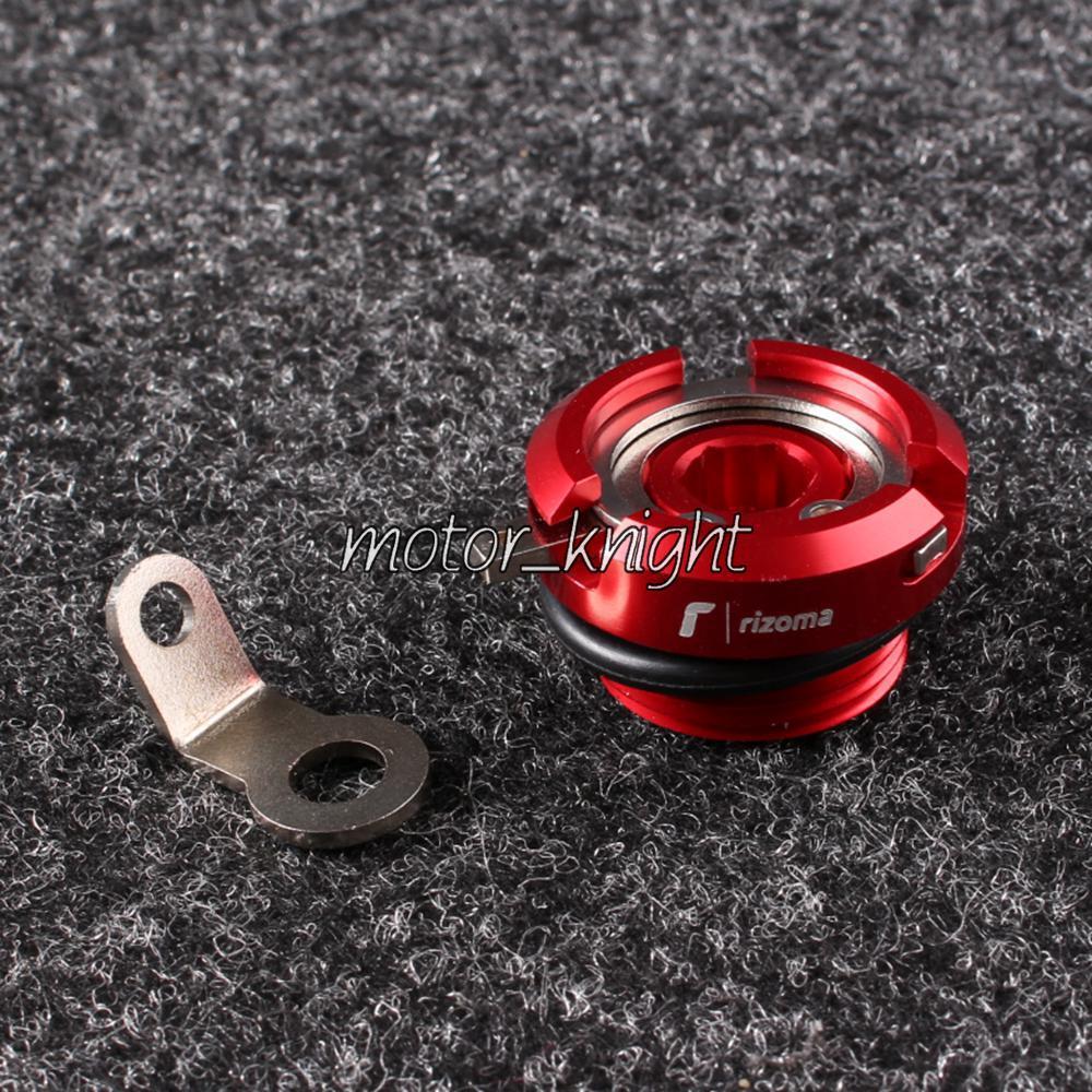 Маслозаливной горловины для Ducati 1098 748 1198 749 750 916 998 Hypermotard 1100 красный