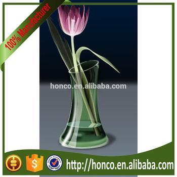Colourful Flower Vaseglass Vase Buy Flower Shaped Glass Vase