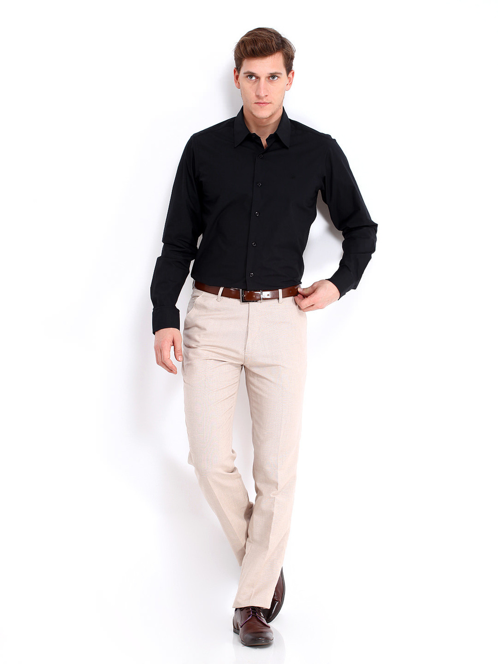 men black smartcasual shirt designer men shirts  buy