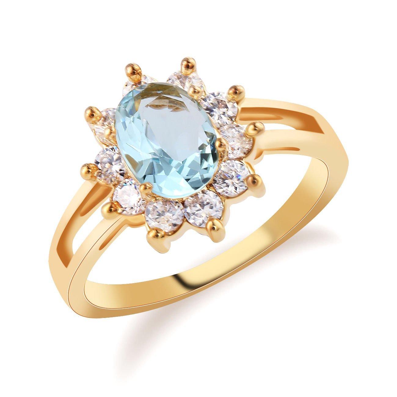 Cheap Sapphire Enement Rings | Cheap Light Blue Sapphire Engagement Rings Find Light Blue Sapphire