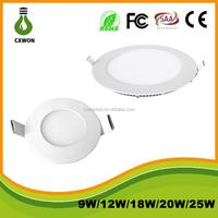 slim Ceiling SMD2835 85-265V lamp 6W 120degree led warm white/cool white High Quality 30pcs panel light