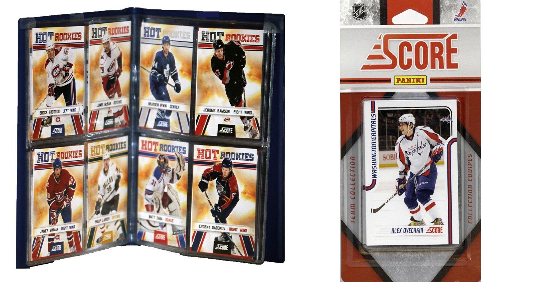 NHL Washington Capitals Licensed 2011 Score Team Set and Storage Album