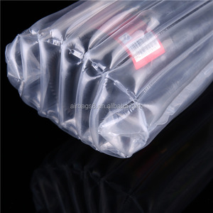 Column Wine Bottle Protector Wine Bags Portable Inflatable Air Packaging Bubble Bag Cushioning Wrap