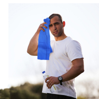 strong water absorption SGS Certification high quality 80cm*34cm pva cooling towel for sports