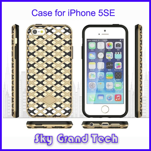 Heavy Duty Sublimation 2 in 1 Mobile Phone Case for iPhone5/5S