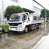 Dongfeng 3200kg lifting capacity flatbed wrecker tow truck, flatbed breakdown truck