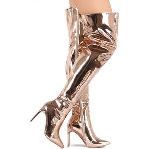 eea9e5cad768 China Patent Knee Boot