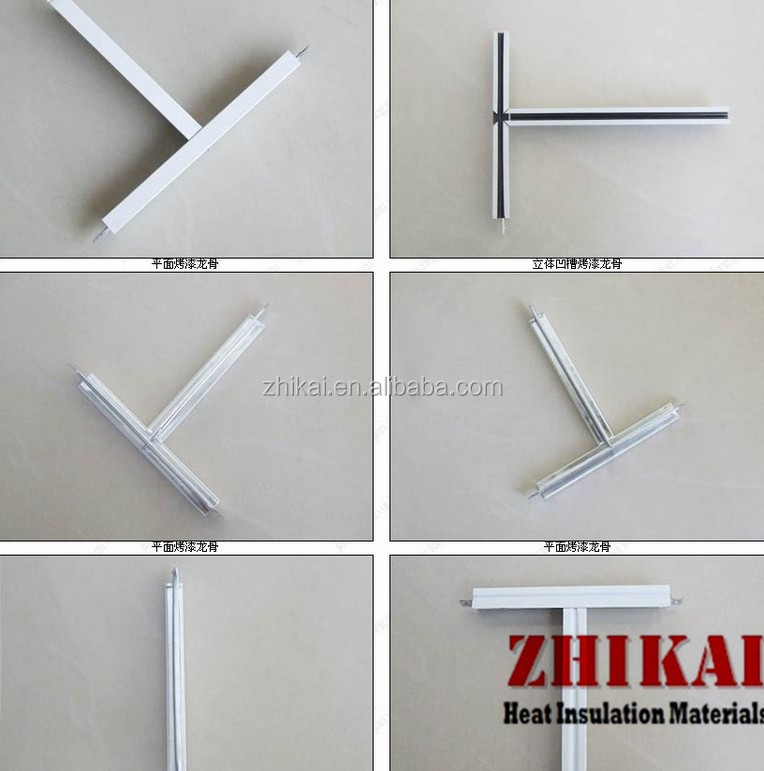 Suspended Ceiling Accesories Angle Tee False Ceiling Tiles