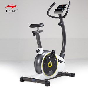 Fitnee Upright Exercise Bike with Pulse, Adjustable Seat