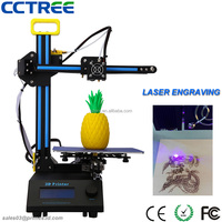 high quality best price FDM printing with laser engraving function 3d printer machine
