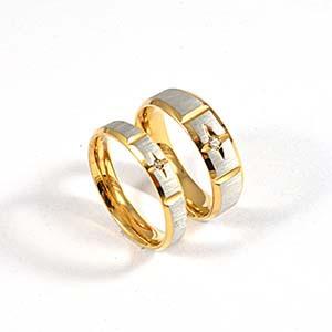 Dubai Couple Wedding Rings New Design Fashion Couples Finger Ring