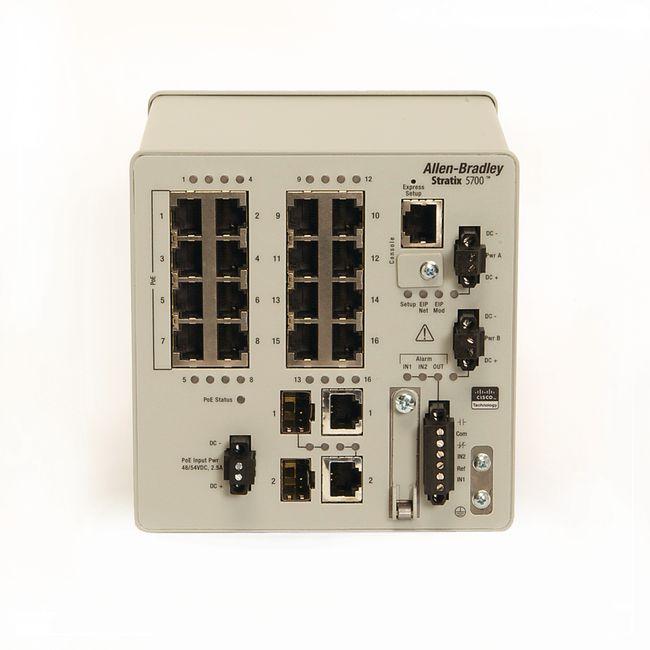 Allen Bradley Stratix 1783-BMS20CL Stratix 5700 20 Port Managed Switch  1783BMS20CL, View 1783-BMS20CL, Allen Bradley Product Details from Simply  Buy